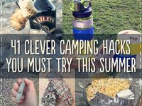 Camping food games tips