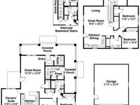 64 best images about mother in law quarters on pinterest for House plans with mother in law quarters