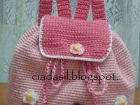 Crochet bags and backpacks