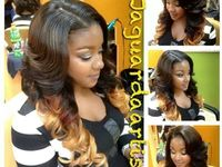 1000+ images about hair on Pinterest | Sew in weave hairstyles, Black ...