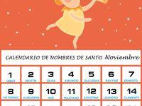 Pin En Nombre De Santos Noviembre