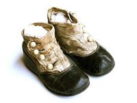 Love old baby shoes