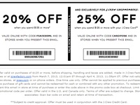 Coupons/Great deals