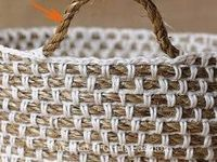 Crochet-baskets and bags