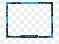 Twitch Live Stream Overlay Face Cam Border Face Cam Twitch Overlay Stream Png And Vector With Transparent Background For Free Download In 2021 Overlays Twitch Streaming