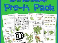 Dinosaur Preschool Fun!!!