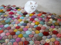 Um, knitting projects and yarn