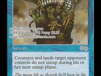 1x Drowned The Dark MtG Magic Blue Common 1 x1 Card Cards