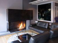 Black Elegance / Exclusive villa in black and silver design