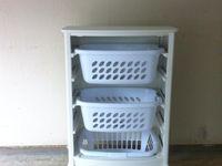 laundry basket holders