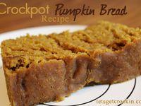 crockpot breads & desserts