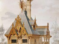 casas y decoración rusa