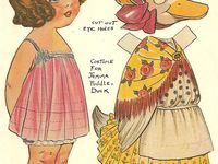 I have a passion for Paper Dolls, they always put a smile on my face. I hope you enjoy my finds!!!