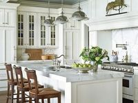 173 best kitchen islands images on pinterest kitchen for Better homes and gardens kitchen island ideas