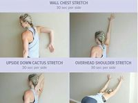esercizi per la postura
