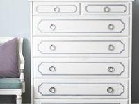 updating dressers, desks, sidetables and more..