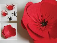 A far cry from the Kleenex flowers we used to make with a bobby pin and some red lipstick.