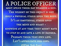 Proud police officers mom