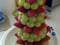 18 best images about annakut fruit display ideas on for Annakut decoration ideas