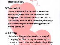 12 Love bombing ideas | love bombing narcissist