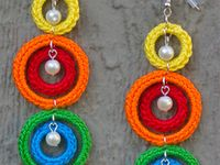 crocheted jewelry patterns, ideas and tutorials