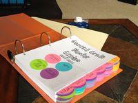 Teaching ideas (master copies binders)