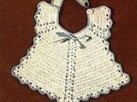 Crochet♡Baby♡Bibs