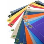 Vinyl Fabric Is 10 Oz Per Sq Yd Waterproof Vinyl Uv Resistant Very Resistant To Tears And Abrasions Heat Sealed Tarp Seams Grom Vinyl Tarps Heavy Duty