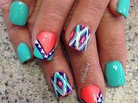 Nails--hippie