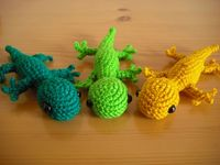 Amigurumi Gecko Pattern : stuffed animal crochet on Pinterest Geckos, Amigurumi ...