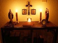 Catholic Home Altars and Icons