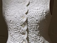 Historical quilting in clothes