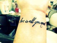 Short tattoo quote