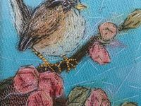 Vogels van stof en papier