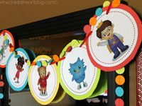 Pbs Kids Birthday Party