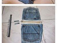 Blue Jeans/Denim Crafts
