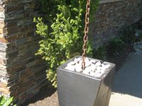 Rain Chain Waterfall : ... DOWNSPOUTS on Pinterest  The waterfall, Washington and Rain chains