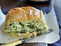 Olga's spinach pie