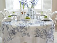 17 Best Images About Tablescapes On Pinterest Linen Tablecloth