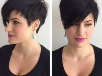 1000+ images about mode coiffure on Pinterest | Short hairstyles ...