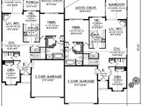 Modern row house elevations house design and decorating ideas - 2 Bedroom Split Level Townhome Plans House Design And