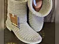 botas y algo mas a crochet melanie