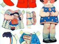I love paper dolls