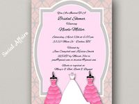 Invitations & Party Printables