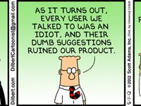 Idea)))) And dilbert resignation strip think, that