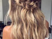 Lena's Wedding Hair