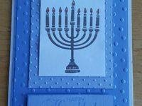 Hanukkah card class