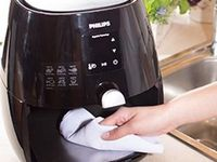 Airfryer schoon maken