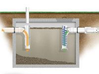 1000 images about septic system info on pinterest for 1 bathroom septic tank