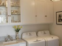 storage spaces/laundry rooms/pantries/offices